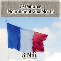 Cérémonie au monument aux morts - Repas de l'amitié des Anciens Combattants