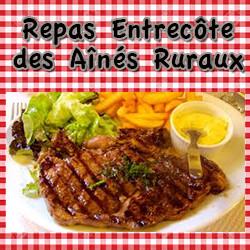 Repas entrecôte des Ainés Ruraux