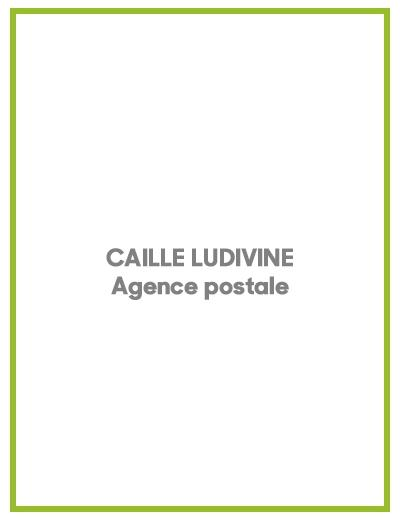 CAILLE Ludivine : agence postale